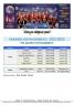 Horaires d'entraînements 2021-2022