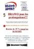 Promotion BRAWO Reprise des compétitions