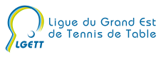 Logo Ligue Grand Est Tennis de table FFTT