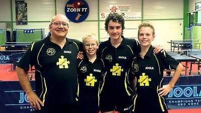 Claude, Timothée, Nicolas et Mathieu