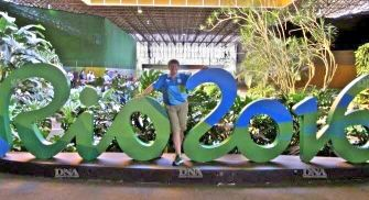 Corinne Stoffel a arbitré les épreuves de tennis de table à Rio. DR
