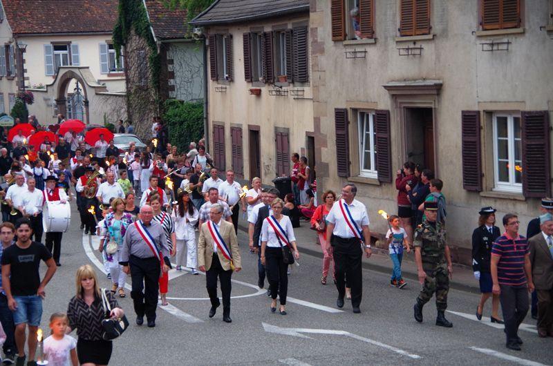 Défilé 14 juillet 2015 à Hochfelden