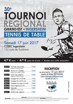 Tournoi AGR Ingersheim 2017