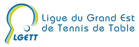 Logo Ligue Grand Est de Tennis de Table LGETT