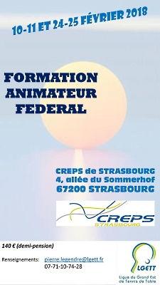 Formation Animateur Fédéral LGETT