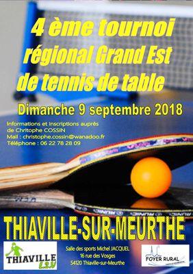 Tournoi régional de Thiaville sur Meurthe (54)