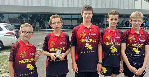 AGR - Top 12 Jeunes 2018 - Les jeunes récompensés de Zorn TT Hochfelden