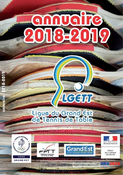 Annuaire LGETT 2018-2019