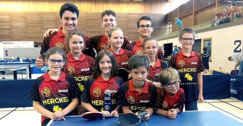 FFTT - Championnat équipes jeunes 2017/2018 - Finale Alsace