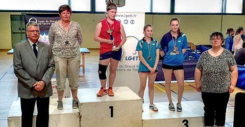 Finales par classement Grand Est - Corinne STOFFEL 2ème en F7