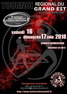 Tournoi Région du Grand Est - 57 Maizières Les Metz 2018