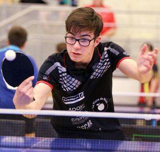 Dimitri Bisch (TT Haguenau, N2) jouera le coup à fond à Wissembourg.  PHOTO DNA