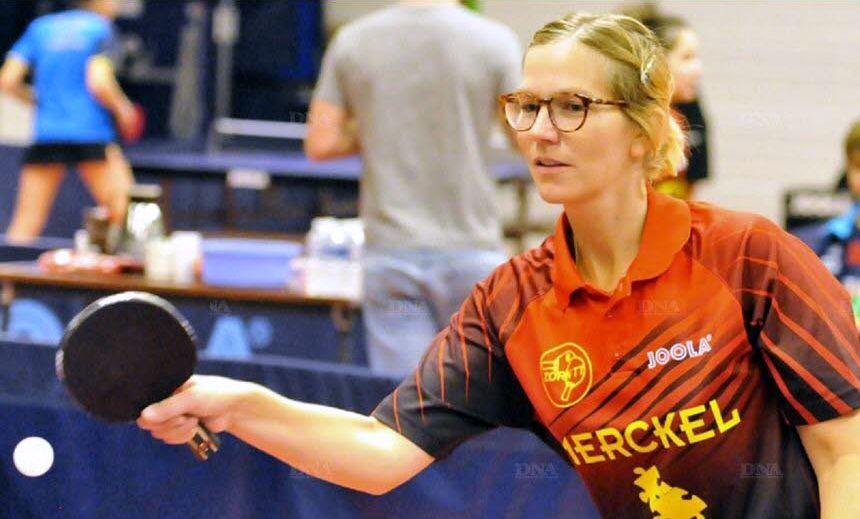 Choc au sommet pour Sabine Wernette (Zorn TT II). PHOTO DNA