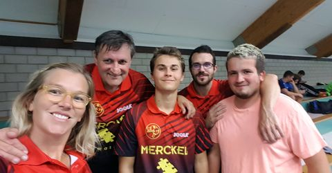 Sabine, Patrick, Pierre, Loïg et Jonathan