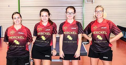 Equipe 1 Dames le 10 novembre 2018