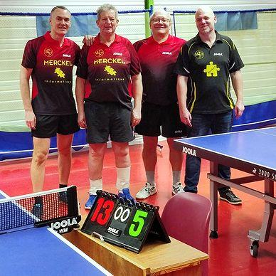 Équipe 2 AGR avec Christophe, Bruno, Claude et Michel