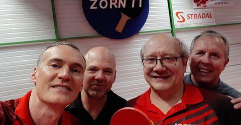 Équipe 2 AGR avec Christophe, Michel, Claude et Thierry