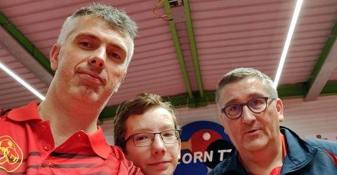 Équipe 3 AGR avec Olivier Henry, Clément Desmonts et Olivier Richert