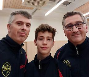 Équipe 3 AGR avec Olivier Henry, Louis Henry et Olivier Richert