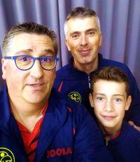 Équipe 3 AGR avec Olivier Richert, Olivier Henry et Louis Henry
