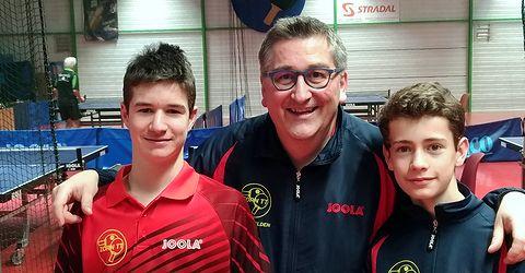 Equipe 3 AGR avec Thomas, Olivier et Louis