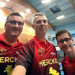 Équipe 3 AGR avec Olivier Richert, Olivier Henry et Laurent Reiss