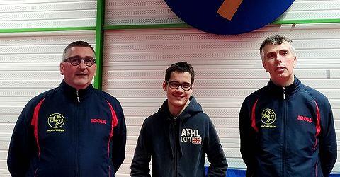 Équipe 3 AGR avec Olivier Richert, Laurent Reiss et Olivier Henry