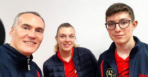 Équipe 4 AGR avec Christophe, Morgane, et Nathan