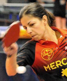 Olga Georgopoulou et Zorn TT tiennent Mondeville en échec 7-7.  PHOTO DNA