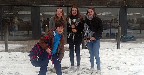 Elena Dorn, Amélie vogt, Melissa Dorn et Maël Muller en N2 à Charleville Mézières
