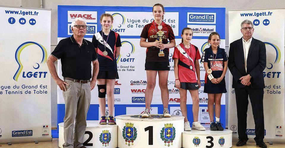 DORN Éléna - Championne du Grand-Est