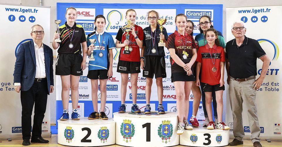 COMTE Noémie et BERTHON Elise - Vice-championnes du Grand Est
