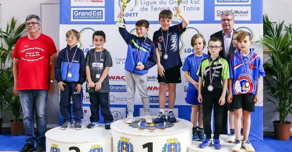 MULLER Roméo et SIMON Lucas - Vice-champions du Grand Est