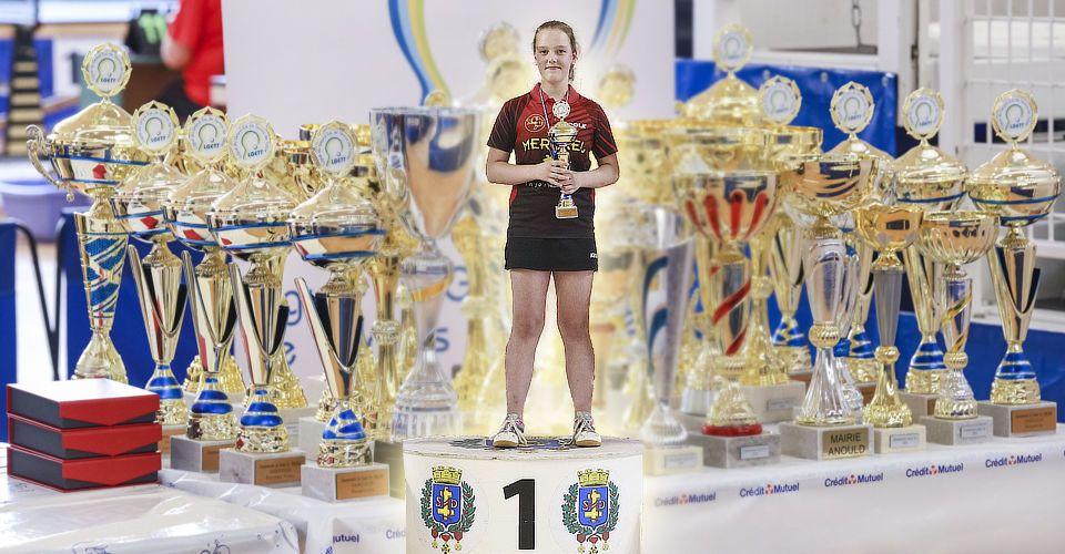 DORN Éléna - Championne du Grand-Est benjamines