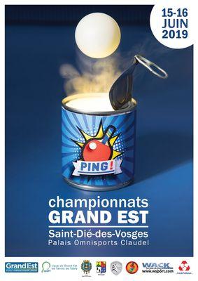 Affiche Championnats Individuels du Grand Est