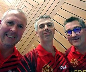Equipe 3 AGR avec Thierry Valentin, Olivier Henry et Olivier Richert