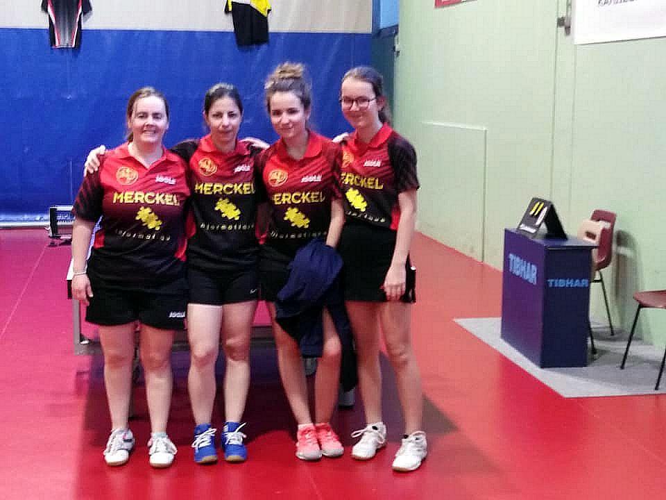 Equipe 1 Dames à Igny