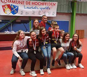 Lauréats sportifs 2019 Zorn TT Hochfelden