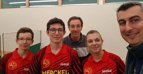 Équipe 4 AGR avec Clément, Nathan et Morgane