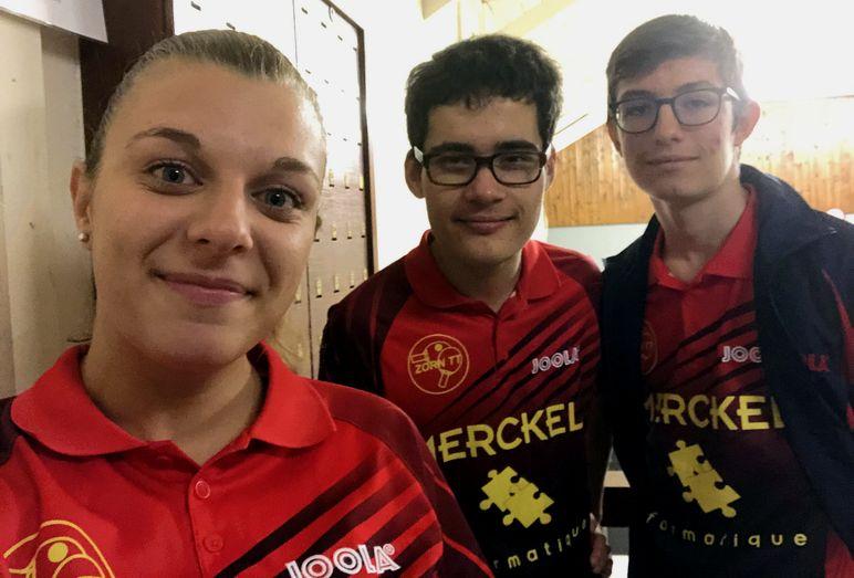 Équipe 4 AGR avec Morgane, Laurent et Nathan