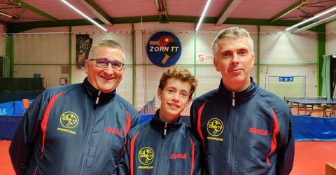 Équipe 3 AGR avec Olivier Richert, Louis Henry et Olivier Henry