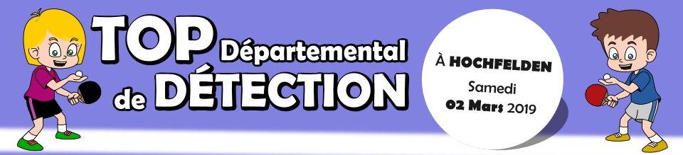 Top départemental de Détection 2019