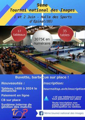 Affiche 9ème Tournoi National des Images - 88 Épinal