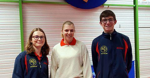Équipe 4 AGR avec Marion, Morgane et Nathan
