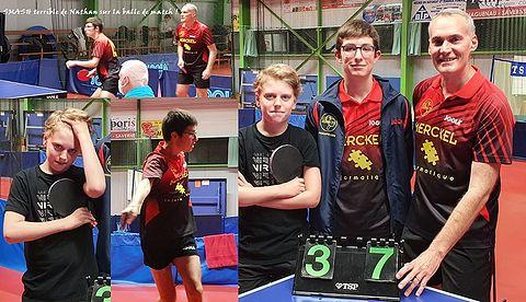 Équipe 5 AGR avec Titouan, Nathan et Christophe