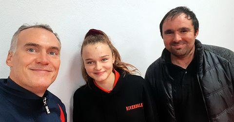 Équipe 5 AGR avec Christophe, Elise et Julien