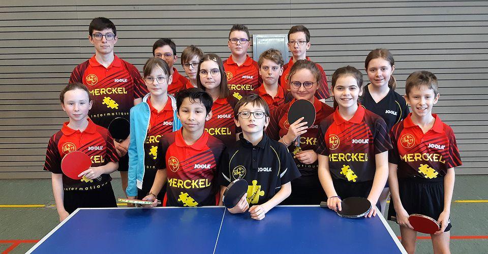 Les jeunes de Zorn TT Hochfelden à Schirrhein