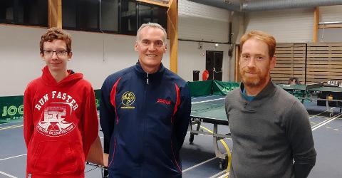 Équipe 5 AGR avec Clément, Christophe et Julien