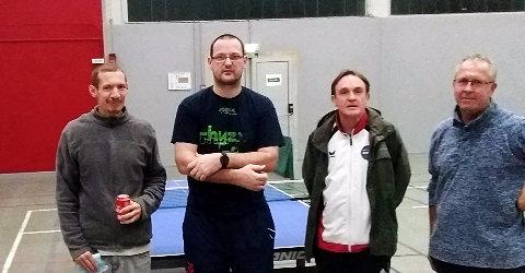 Equipe 2 AGR avec Damien, Emmanuel, Eric et Thierry