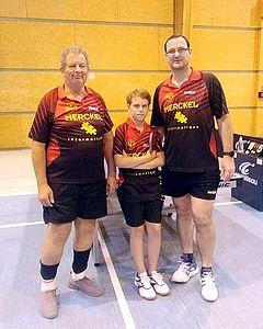 Equipe 3 Messieurs avec Bruno, Titouan et Emmanuel